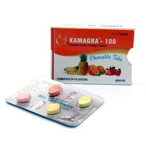Kamagra Generic Viagra soft Chewable 100 mg