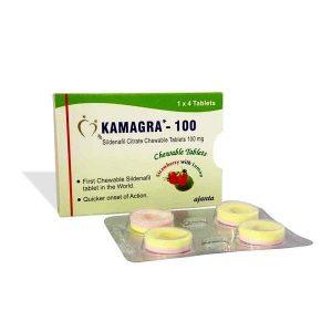 Kamagra Chewable Tablets 100mg In UAE