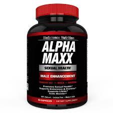 Alpha MAXX Sexual Health Male Enhancement 60 Caps Testosterone Booster